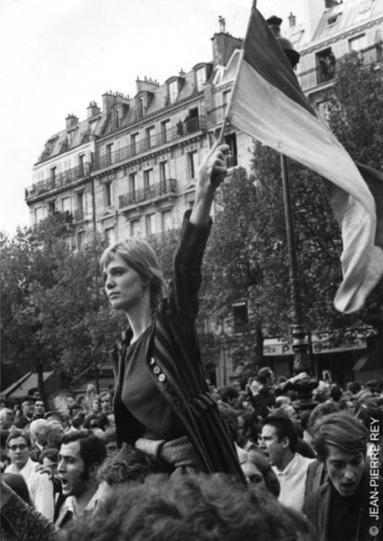 De la photographie d'actualité à l'icône médiatique : « la Marianne de 68 » (2/2)