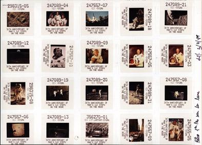 les propositions de compilation d'images : rétrospective Lune 1999, agence Sygma.